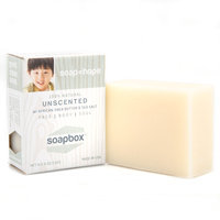 SoapBox Soaps 728028076707 All-Natural Unscented Bar Soap - Pack of 6