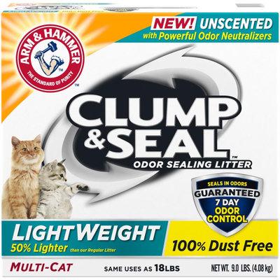 ARM & HAMMER™ Clump & Seal™ Lightweight Odor Sealing Clumping Litter Unscented