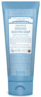 Dr. Bronner's Unscented Organic Shaving Soap