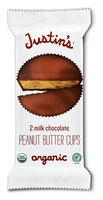 Justin's Milk Chocolate Peanut Butter Cups