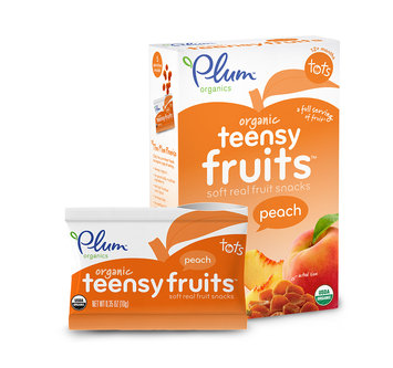 Plum Organics Teensy Fruits® Peach
