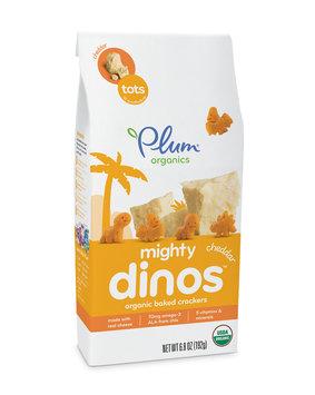 Plum Organics Mighty Dinos™ Cheddar Crackers