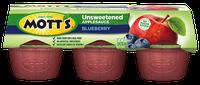 Mott's® Unsweetened Applesauce Blueberry