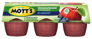 Mott's® Unsweetened Applesauce Blueberry