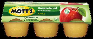 Mott's® Unsweetened Applesauce Apple