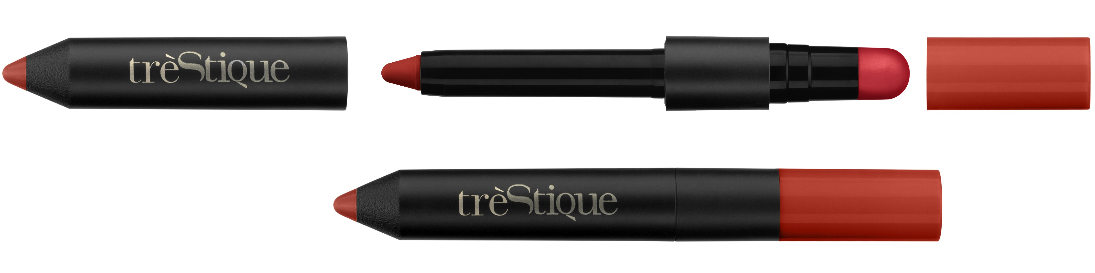 trèStique Matte Color & Shiny Balm Lip Crayon