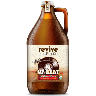 revive kombucha Up Beat Coffee Brew