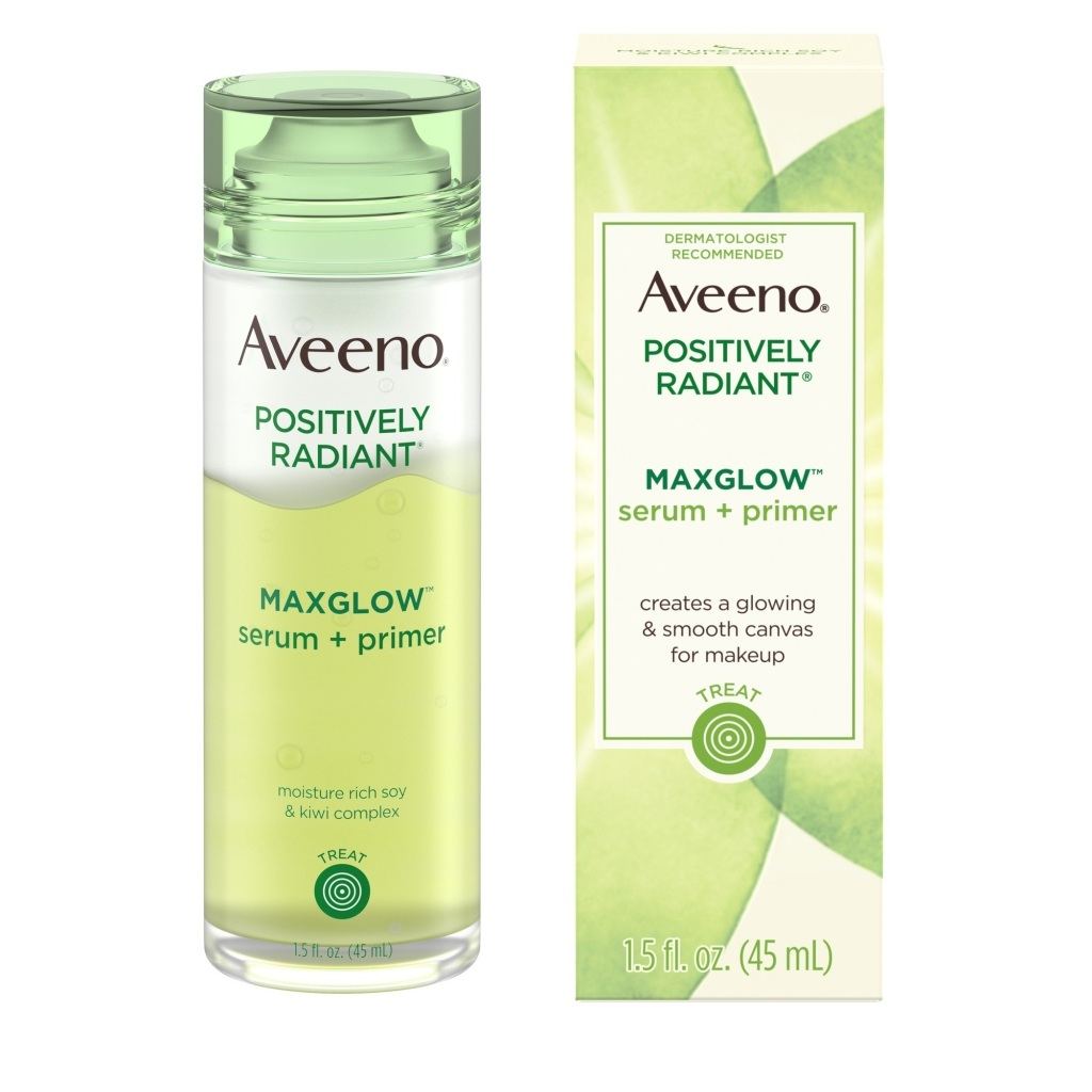 AVEENO® Positively Radiant® Maxglow™ Serum + Primer