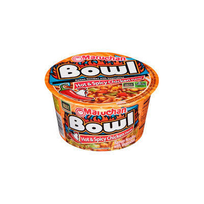 Maruchan Hot & Spicy Chicken Flavor Ramen Noodle Bowl