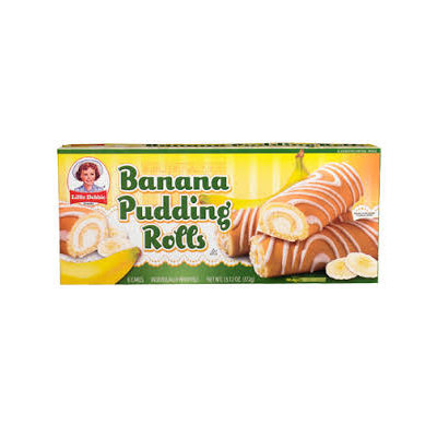 Little Debbie Banana Pudding Rolls