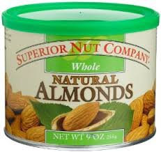 Superior Nut Whole Natural Almonds