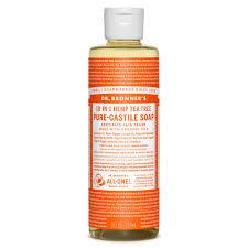 Dr. Bronner's 18-in-1 Hemp Tea Tree Castile Soap