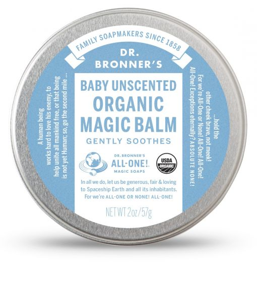 Dr. Bronner's Baby Unscented Organic Magic Balm