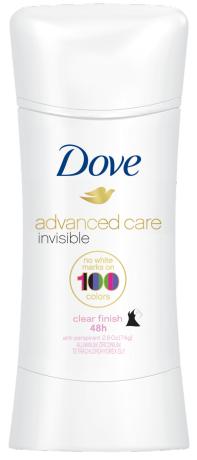 Dove Invisible Advanced Care Clear Finish Antiperspirant