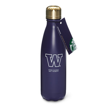 Starbucks UW Collection Stainless Steel Water Bottle - Purple, 17 fl oz