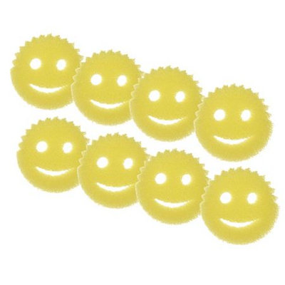Scrub Daddy Set of 8 Scented Scratch Free Sponges