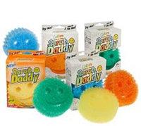 Scrub Daddy Set of 8 Multi-color Scratch Free Sponges