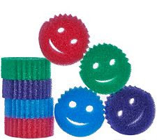 Scrub Daddy Set of 8 Scratch Free Cleaning Sponges