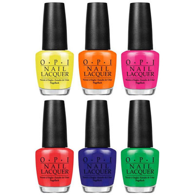 OPI Nail Lacquer Tru Neon Collection No Doubt About It BC2