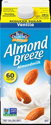Almond Breeze® Almondmilk Reduced Sugar Vanilla