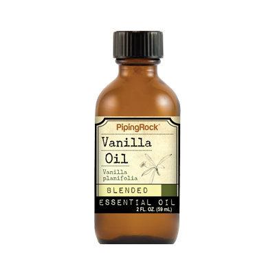 Piping Rock Vanilla Essential Oil Blend 2 fl oz Therapeutic Grade