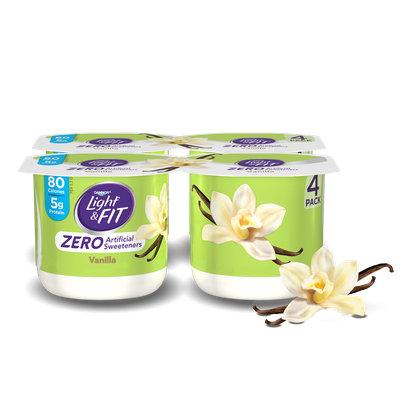Light & Fit® Vanilla Nonfat Yogurt With Zero Artificial Sweeteners