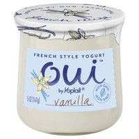 Oui™ Yoplait® Vanilla Flavored French Style Yogurt