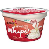 Yoplait® Greek 2% Whips!® Low Fat Vanilla Cream Yogurt Mousse