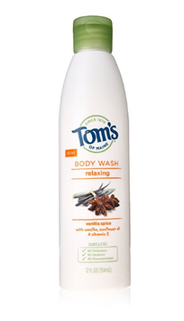 Tom's OF MAINE Relaxing Body Wash Vanilla Spice