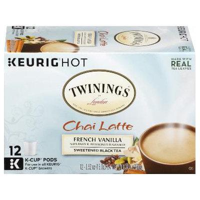 Twinings® French Vanilla Chai Latte Sweetened Black Tea K-Cup