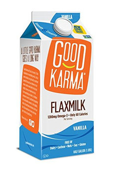 Good Karma Flax Milk Dairy Free Beverage Vanilla