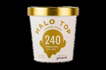 Halo Top Vanilla Bean Ice Cream
