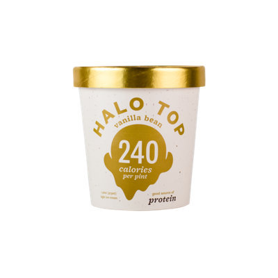 Halo Top Vanilla Bean Ice Cream