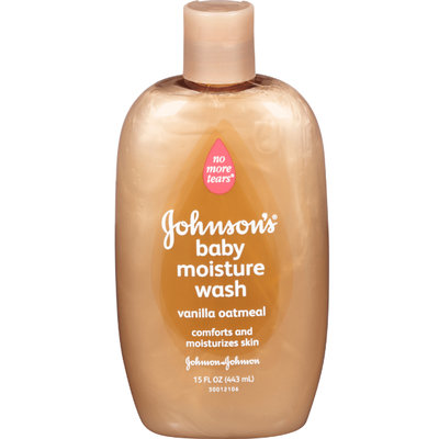 Johnson's® Moisture Baby Wash Vanilla Oatmeal