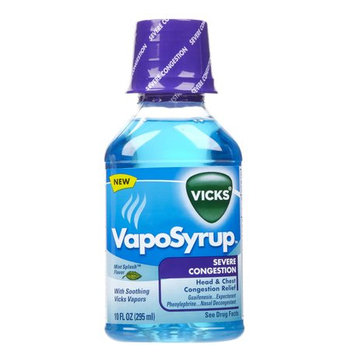 Vicks® VapoSyrup Severe Congestion Relief Liquid