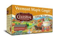 Celestial Seasonings® Vermont Maple Ginger Herbal Tea Caffeine Free