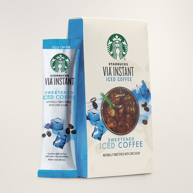 STARBUCKS® Iced Coffee Smooth & Refreshing VIA® Instant