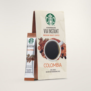 STARBUCKS® Colombia Balanced & Nutty VIA® Instant
