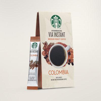 STARBUCKS® Colombia Balanced & Nutty VIA® Instant