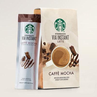 STARBUCKS® Caffè Mocha Latte Cream & Cocoa VIA® Instant