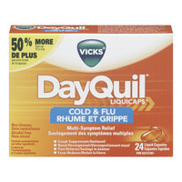 Vicks DayQuil Cold & Flu Multi Symptom Relief Liquicaps