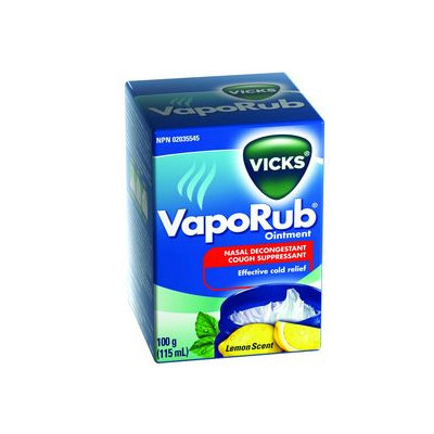 Vicks Vaporub, Lemon, 115 mL