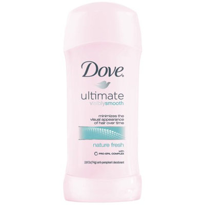 Dove Ultimate Visibly Smooth Nature Fresh Antiperspirant Deodorant