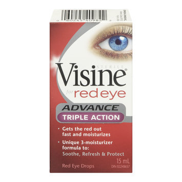 Visine Red Eye Advance Triple Action Eye Drops