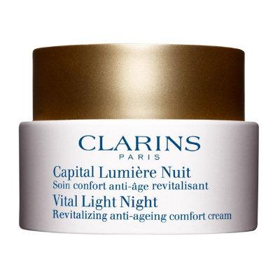 Clarins Vital Light Night Revitalizing Anti-Ageing Comfort Cream
