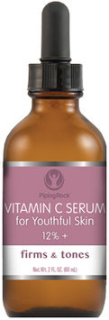 Piping Rock Vitamin C Serum 12%+ 2 fl oz Dropper Bottle