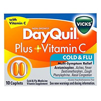 DayQuil™ Plus + Vitamin C Cold & Flu Relief Caplets