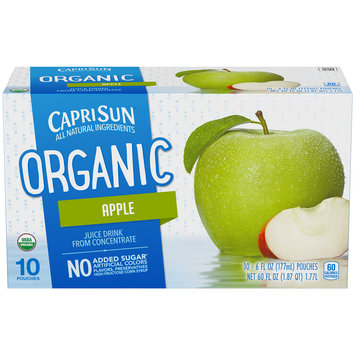 Capri Sun Organic Apple Ready-to-Drink Soft Drink