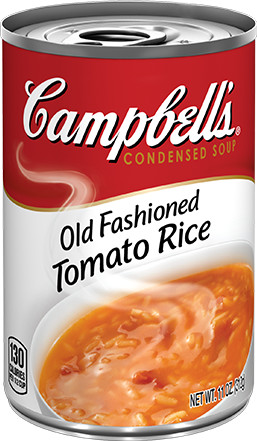 Campbell's® Old Fashioned Tomato Rice Condensed Soup