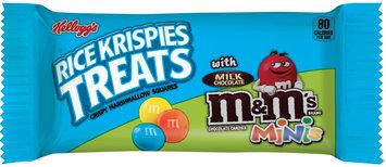 Kellogg's® Rice Krispies Treats® with Milk Chocolate M&M's® Minis®